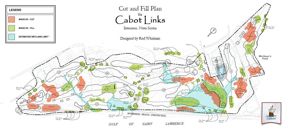 Cutten Golf Course Design